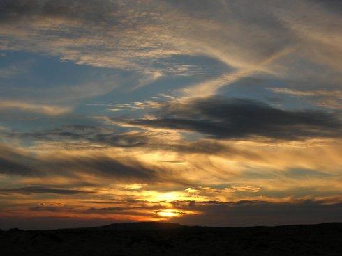 Sunset at Sapat Beach